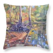 Signs Of Fall Throw Pillow