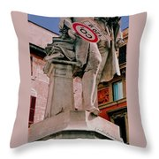 Signs Of Rome Throw Pillow