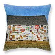 Signs Of The Time Throw Pillow