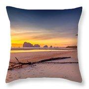 Sikao Sunset Throw Pillow