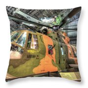 Sikorsky Hh-3 Jolly Green Giant Throw Pillow