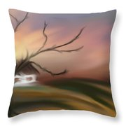 Silece Throw Pillow