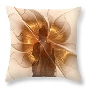 Silence -1- Throw Pillow