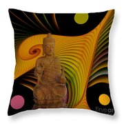 Silence -2- Throw Pillow