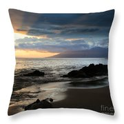 Silence Of Devotion Throw Pillow