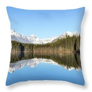 Silence Of North Throw Pillow