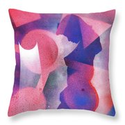 Silent Contemplation 2 Throw Pillow