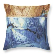 Silent Echoes Throw Pillow