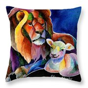 Silent Night Throw Pillow