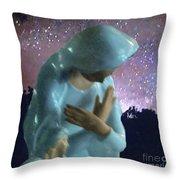 Silent Prayer Throw Pillow