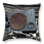 Silent Sony Throw Pillow