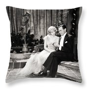 Silent Still: Couples Throw Pillow