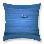 Silent Story Throw Pillow