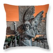 Silent Vigil Throw Pillow