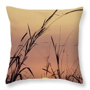 Silhouettes Throw Pillow