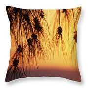 Silhouettes Throw Pillow by Rita Ariyoshi - Printscapes