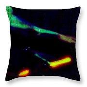 Silicon Man Throw Pillow