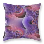Silk Fabric Throw Pillow