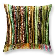 Silk Scarves For Sale Throw Pillow
