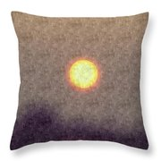 Silk Sol Throw Pillow