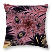 Silken Pleasures Throw Pillow