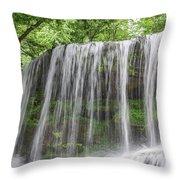 Silky Waterfalls Throw Pillow