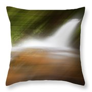 Silky Magic Dreamscape  Throw Pillow