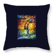 Sillhouettes Throw Pillow