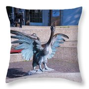 Silly Goose Throw Pillow