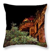 Silly Hall, Cuenca, Ecuador II Throw Pillow