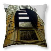 Silo 4 Throw Pillow