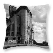 Silo City 4 Throw Pillow
