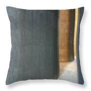 Silver And Gold In Belgium Throw Pillow