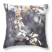 Silver Beauty.  Nature In Alien Skin Throw Pillow