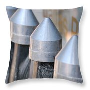 Silver Bullets Throw Pillow