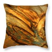 Silver Liberty - Tile Throw Pillow
