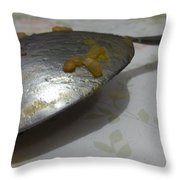 Silver Spoon? Throw Pillow