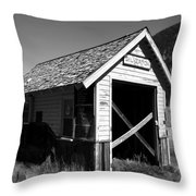 Silverton Depot Throw Pillow