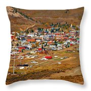 Silverton Town Site Throw Pillow