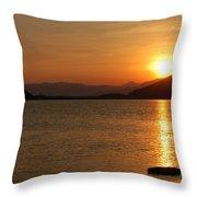 Silverwood Sunrise Throw Pillow