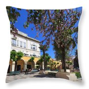 Silves In Spring Throw Pillow
