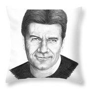 Simon Cowell Throw Pillow