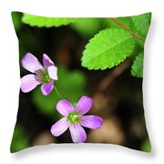 Simple Beauty II Throw Pillow