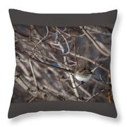 Simple Bird Throw Pillow