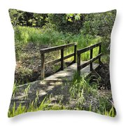 Simple Bridge Throw Pillow