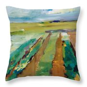 Simple Fields Throw Pillow