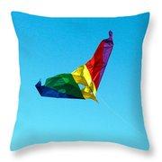Simple Kite Throw Pillow