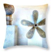 Simple Sculptures Throw Pillow