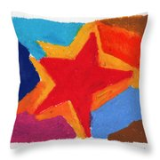 Simple Star Throw Pillow