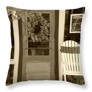 Simple Times Throw Pillow